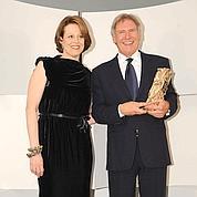 Sigourney Weaver et Harrison Ford, venu sans sa femme.