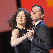 Valérie Lemercier et Gad Elmaleh n'ont pas ménagé leurs efforts pour divertir la salle.