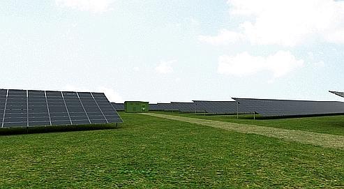 EDF investit dans une centrale solaire géante à Toul