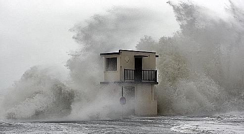 «La tempête n'est pas liée au réchauffement climatique»
