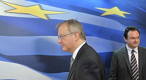 Grèce : Bruxelles et Berlin exigent plus d'austérité