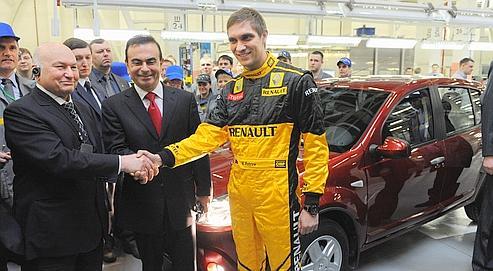 Renault monte en puissance en Russie