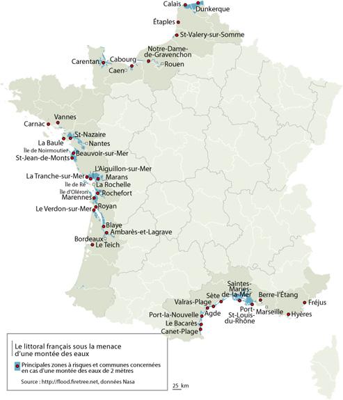Inondations: le tour de France des zones à risque