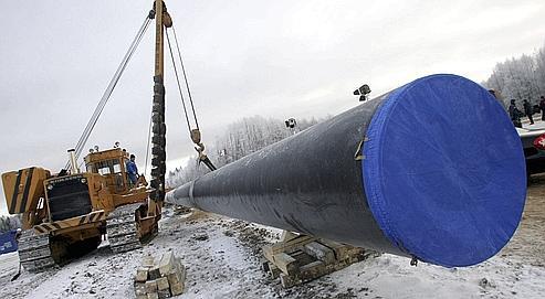 GDF Suez entre dans le gazoduc de la Baltique