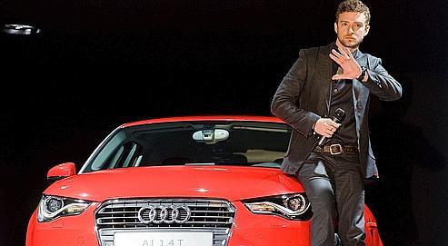 Audi enrôle Justin Timberlake sur le Net