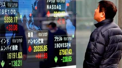 Prises de bénéfices sur les marchés asiatiques