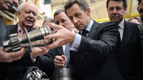 Sarkozy veut augmenter de 25% la production industrielle