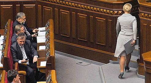 Ukraine: le gouvernement de Ioulia Timochenko congédié