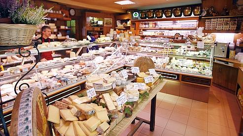 Les fromages français se sont moins exportés en 2009