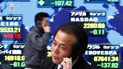 Les Bourses asiatiques euphoriques