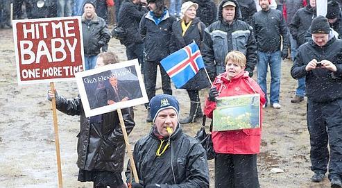 Les Islandais rejettent l'accord Icesave