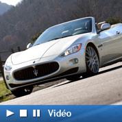 Maserati GranCabrio : «esthétique sublime»