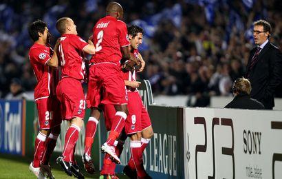 La joie des Bordelais, qualifiés pour les quarts de finale de la Ligue des Champions