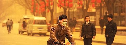 Pékin frappée par une tempête de sable