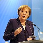 Merkel douche les espoirs de la Grèce