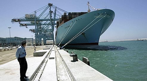 Le port Tanger Med, auMaroc, affiche son ambition d'être un pôle  industriel.