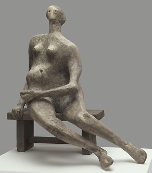Seated Woman 1957 (Reproduced by permission of The Henry Moore Foundation)