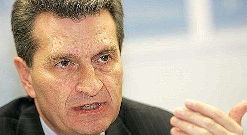 «Il n'y a aucune raison de s'opposer à South Stream», indique le commissaire européen à l'énergie, Günther Oettinger.