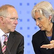 Lagarde au Conseil des ministres allemand