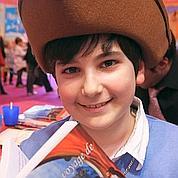 Charles-Antoine, 11ans, auteur à succès