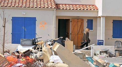 Le quartier de La Faute-sur-Mer où vingt-neuf personnes avaient  trouvé la mort pendant la tempête Xynthia, sera rasé.
