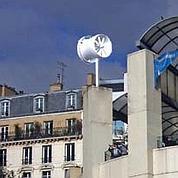 Paris tente l'expérience des mini-éoliennes