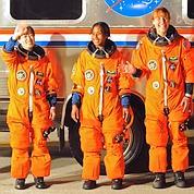 Quatre femmes à bord de la Station spatiale