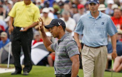 Tiger Woods, bien placé au terme du 1er tour, a pu mesurer sa cote d'amour