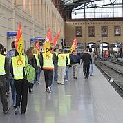Septième jour de grève à la SNCF