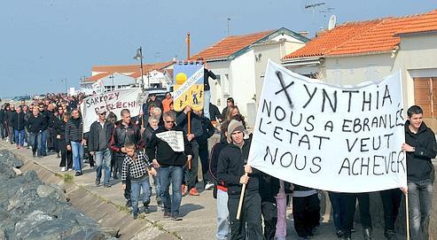 Xynthia: les «zones noires» au cœur de la polémique
