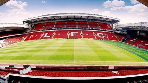Liverpool devrait quitter prochainement son mythique stade d'Anfield.