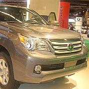 Toyota suspend la vente d'une Lexus
