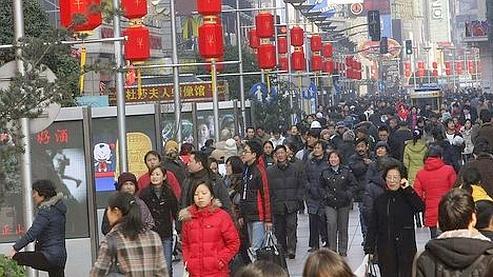 La croissance chinoise à 11,9%