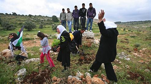 La non-violence, 3e voie de la résistance palestinienne