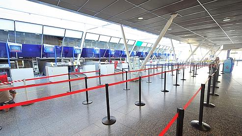 L'aéroport de Lille est fermé jusqu'à nouvel ordre.