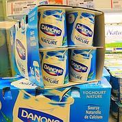 Danone: la baisse des prix dope les ventes