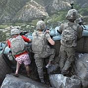 Les Américains quittent une vallée afghane