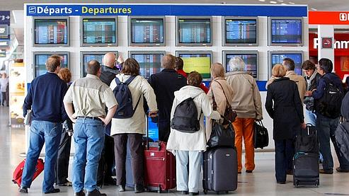 L'aéroport de Roissy, vendredi après-midi.