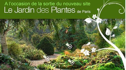 Les résultats du jeu-concours Jardin des Plantes