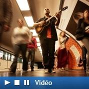 Le métro, «plus grande scène de France»