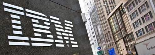 IBM affiche un bénéfice en hausse de 13%