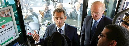 Sarkozy : «aucun quartier n'échappera à l'autorité»