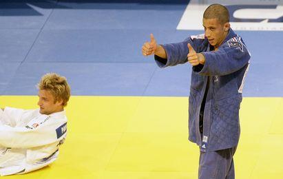 Sofiane Milous est devenu champion d'Europe des -60 kg ce jeudi à Vienne