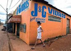 Les plus pauvres sont contraints de vivre dans des favelas.