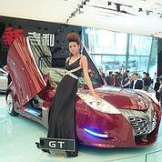 L'automobile chinoise, star du salon de Pékin