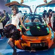 L'auto euphorique au Salon de Pékin