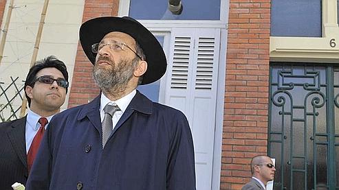 À Vichy, le grand rabbin rend hommage aux Justes