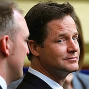Clegg redessine la carte électorale britannique