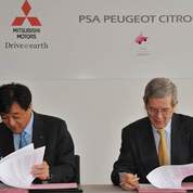 PSA et Mitsubishi : nouveau partenariat