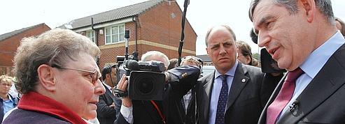 Une gaffe de Brown enflamme les médias britanniques